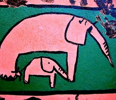 pink parade,éléphants,détente,élections présidentielles 2012,jungle,histoire,mémoire,art contemporain sauvage,murs,indice,relax,fantaisie,détournement,ouf,actualité,politique spectacle,animal on est mal,quiétude ?,soulagement,interlude relaxant,enfances,époque épique